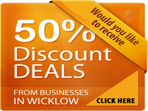 50% Discounts from Companies in Wicklow